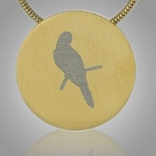 Bird Cremation Pendant