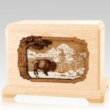Bison Maple Hampton Cremation Urn
