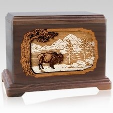 Bison Cremation Urns for Two