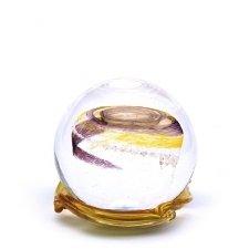 Black & Gold Galaxy Medium Memory Glass Keepsake
