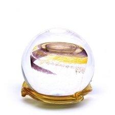 Black & Gold Galaxy Memory Glass Keepsake