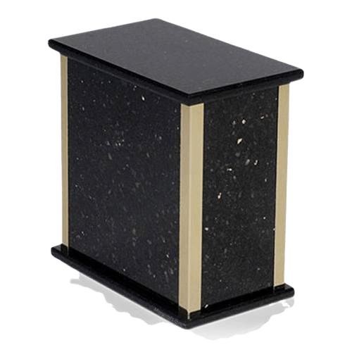 Black Galaxy Granite Cremation Urns