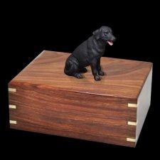 Black Labrador Doggy Urns