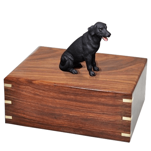 Black Labrador Doggy Urns