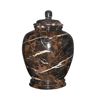 Black Orchid Small Child Urn