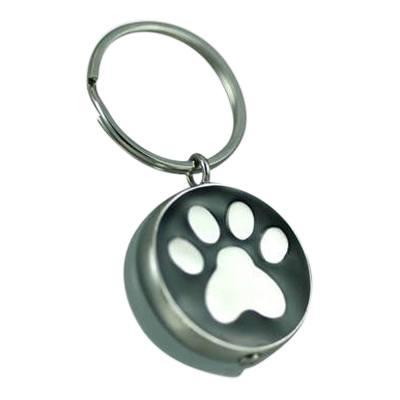 Black Paw Keychain Keepsake