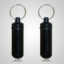 Black Pet Keepsake Keychains
