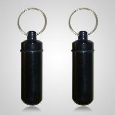 Black Pet Keepsake Keychains