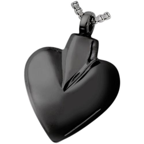 Black Spade Cremation Pendant