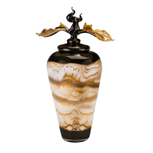 Midnight Flight Art Cremation Urn
