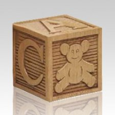 Building Blocks Child Cremation Urn
