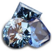Blue Cremation Diamonds