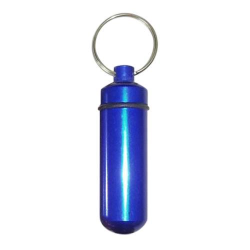 Blue Cremation Keychain