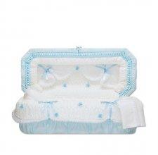 Blue Fair Mini Child Casket