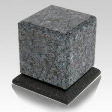 Blue Pearl Stone Pet Urn