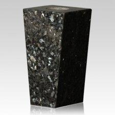 Blue Pearl Modern Granite Vase