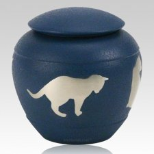Country Silhouette Cat Urn
