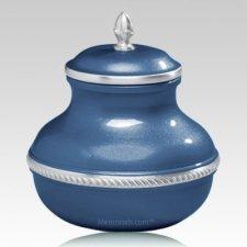 Blue Silverado Small Cremation Urn