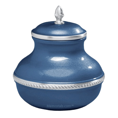 Blue Silverado Small Cremation Urn