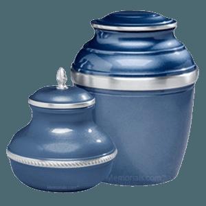 Blue Silverado Cremation Urns