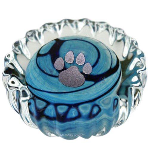 Blue Swirl Pet Keepsake Urn