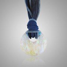 Blue Translucence Ash Pendants