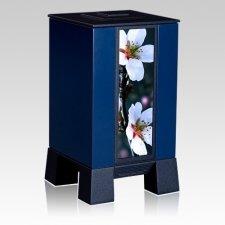 Blue & Cherry Modern Cremation Urns