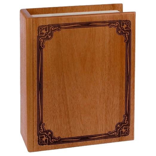 Book Mahogany Cremation Urn