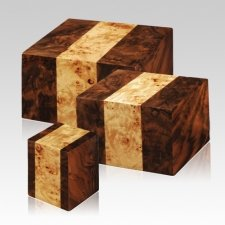 Bordeaux Wood Cremation Urns