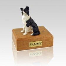 Border Collie Medium Dog Urn