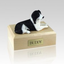 Border Collie Resting Dog Urns