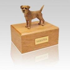 Border Terrier Wheaten Large Dog Urn