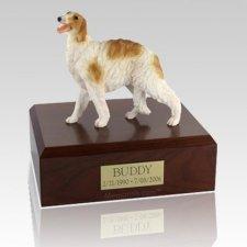 Borzoi Standing X Large Dog Urn