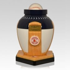 Boston Red Sox Baseball Cremation Urn