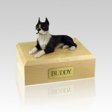 Boston Terrier Large Dog Urn