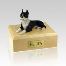 Boston Terrier X Large Dog Urn