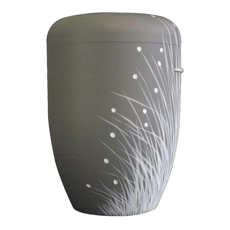 Winter Grass Biodegradable Urn
