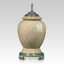 Botticino Pewter Marble Cremation Urns