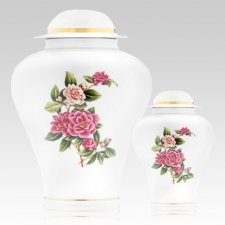 Bouquet Porcelain Cremation Urns