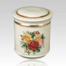 Bouquet Porcelain Child Cremation Urn