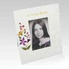 Bouquet Memorial Frame