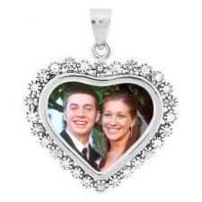 Bouquet Photo Pendants