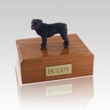 Bouvier Standing Large Dog Urn