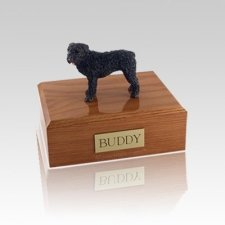 Bouvier Standing Medium Dog Urn