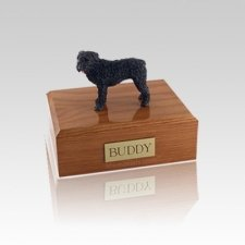 Bouvier Standing Small Dog Urn