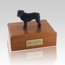 Bouvier Standing X Large Dog Urn