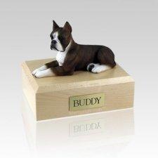Boxer Brindle Large Dog Urn