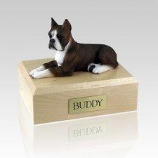 Boxer Brindle X Large Dog Urn