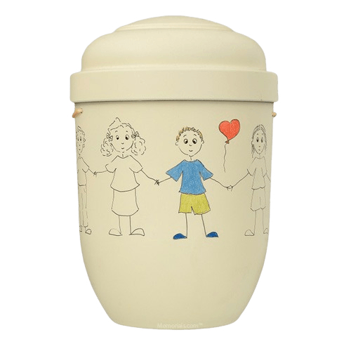 Boy Dreams Biodegradable Urn