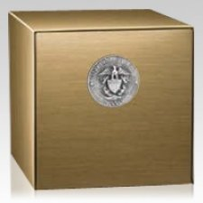 Bravery Navy Cremation Urn